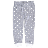 New Ewe, Gray with White Polka Dots Baby Pajama Pant, 6 Months-24 Months
