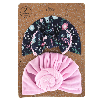 A.D. Sutton & Sons, Baby Headwraps, 1 Each of 2 Designs