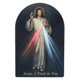 Nelson Fine Art & Gifts, Jesus I Trust In You Magnet, Wood, 3 x 4 1/2 inches