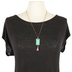 Modern Grace, His Eye Is On The Sparrow Necklace, Zinc Alloy & Iron, Gold, 18 inches