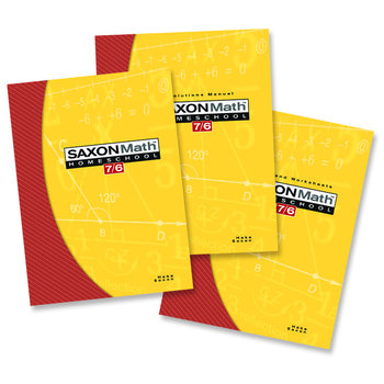 Saxon Math 7/6: Homeschool Kit
