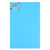 Silly Winks, Thick Foam Sheet, 12 x 18 inches, Neon Blue