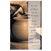 Salt & Light, But Now O Lord Thou Art Our Father Church Bulletins, 8 1/2 x 11 inches Flat, 100 Count