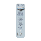 Dicksons, Cubic Zirconia Purity Heart, Women's Ring, Silver Plated, Sizes 4-7