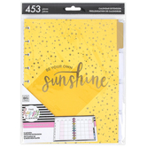 MAMBI, The Happy Planner®, Sunshine Classic Twelve Month Undated Extension Pack, 453 pieces