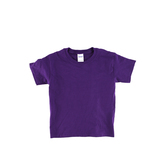 Gildan, Short Sleeve T-Shirt, Purple, Youth Extra Small - Large, Pre-Shrunk Cotton, Youth XS-L