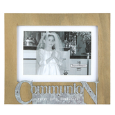 Ganz, First Holy Communion Photo Frame, Holds 4 x 6 inch Photo, 7 1/4 x 8 1/2 inches