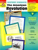 Evan-Moor, History Pockets The American Revolution Teacher Reproducible, Paperback, 96 Pages, Grades 4-6
