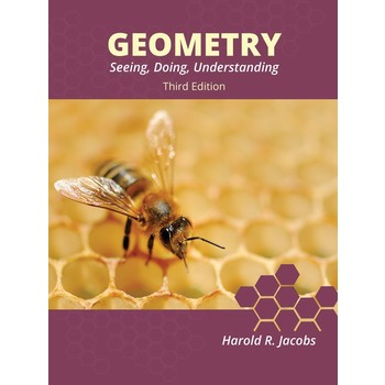 Master Books, Jacobs Geometry, Student Text, 3rd Edition, Hardcover, 900 Pages, Grades 10-12
