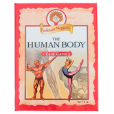 Outset Media Games, Professor Noggin's The Human Body Card Game, Grades 2-Adult