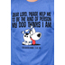Red Letter 9, My Dog Short Sleeve T-Shirt, Blue Heather