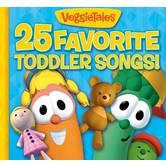 25 Favorite Toddler Songs, by VeggieTales, CD