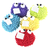 Pacon, Whiteboard Eraser Puffs, 3 x 3 Inches, Assorted Colors, Pack of 5