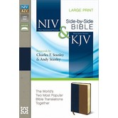 NIV KJV Side-by-Side Parallel Bible, Duo-Tone, Multiple Colors Available