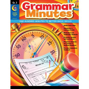 Grammar Minutes, Grade 3
