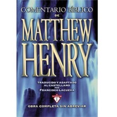 Comentario Biblico Matthew Henry: Obra Completa Sin Abreviar, by Matthew Henry, Hardcover