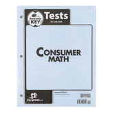 BJU Press, Consumer Math Tests Answer Key, 2nd Edition, Grades 11-12