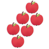 Eureka, A Teachable Town Apples Paper Cut-Outs, Large 5.50 Inches, 36 Pieces
