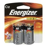 Energizer, Max C Batteries, 2-Count