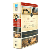 NIV Cultural Backgrounds Study Bible, Multiple Styles Available