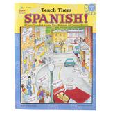 Carson-Dellosa, Teach Them Spanish Workbook, Reproducible Paperback, 96 Pages, Grade 4