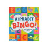 Peaceable Kingdom, Alphabet Bingo: The Letter Learning Game, Ages 4 and Older, 2 to 6 Player Game
