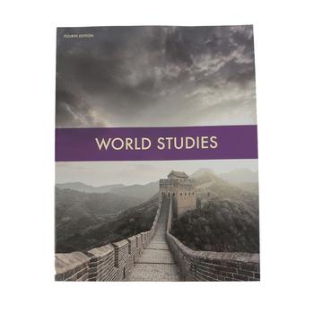 BJU Press, World Studies Student Activity Manual, 4th Edition, Grade 7
