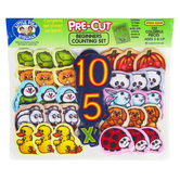 Little Folk Visuals, Pre-Cut Beginners Counting Set, Felt, Multi-Colored, Ages 3 and Older, 132 Pieces