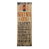 Salt & Light, Matthew 5:16 Let Your Light Shine Bookmarks, 2 x 6 inches, 25 Bookmarks