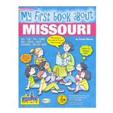 Gallopade, My First Book About Missouri, Paperback, 32 Pages, Grades K-3