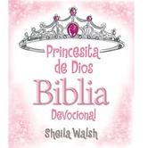 Princesita de Dios Biblia Devocional, by Sheila Walsh, Hardcover