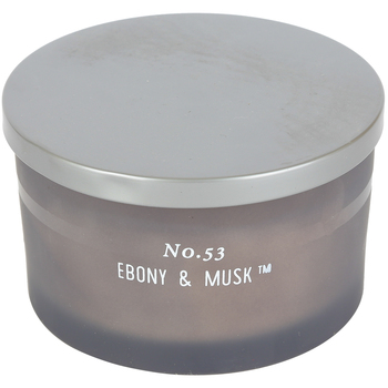 No. 53 Ebony & Musk Jar Candle, Brown, 15 Ounces, 5 1/4 x 3 1/4 Inches