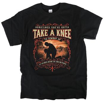 Kerusso, 1 Timothy 4:8 Take a Knee, Men's Short Sleeve T-Shirt, Black, M-3XL