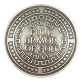 Dicksons, Ephesians 6:14-17 Armor of God Auto Visor Clip, Zinc Alloy, 2 inches