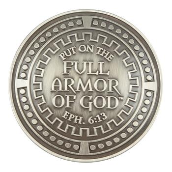 Dicksons, Ephesians 6:14-17 Armor of God Auto Visor Clip, Zinc Alloy, 2 inches