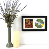 Green Tree Gallery, CD Frame, Wood, Black, 13 x 7 1/2 inches