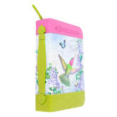 Divinity Boutique, Romans 12:12, Be Joyful In Hope Hummingbird Bible Cover, Multiple Sizes Available