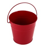 Bright Ideas, Medium Metal Pail with Handle, Multiple Colors Available, 5 inches