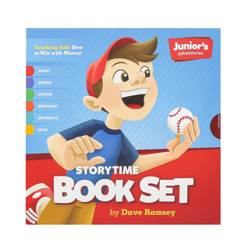 Dave Ramsey, Juniors Adventures Storytime Book Set, 6 Hardcover Books, Grades PreK-5