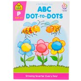 School Zone, ABC Dot-to-Dots Deluxe Edition, Paperback, 64 Pages, Preschool Ages 3-5