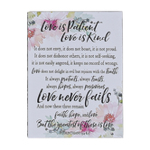 Dexsa, Woodland Grace, 1 Corinthians 13 Love Is Patient Love Is Kind Magnet, 3 x 4 inches