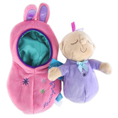 Manhattan Toy Company, Snuggle Pods Hunny Bunny, 8 inches, Ages 6 Months and Older