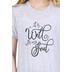 NOTW, It is Well With My Soul, Women's Short Sleeve T-Shirt, Grey Fleck