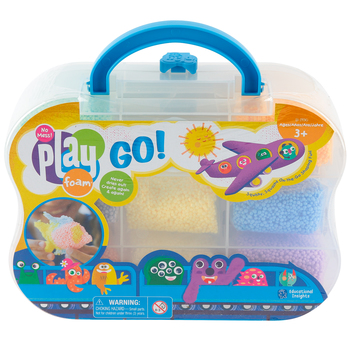 Educational Insights, Playfoam Go with Carrying Case, 8 Colors, Ages 3-6