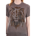 Future Shirts, for KING & COUNTRY, Run Wild Lion, Men's or Women's T-Shirt, Brown Heather, Small