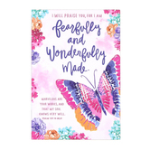 SoulScripts, Psalm 139:14 Fearfully & Wonderfully Made, Paperback Journal, 5 1/2 x 8 inches, 80 Pages