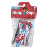 K-Roo Sports, Jump Rope, Red, White, & Blue, 7 Feet