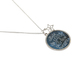 Modern Grace, Psalm 147:4 He Counts the Stars Necklace, Zinc Alloy & Iron, Silver, 22 inches