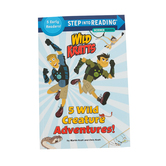 Wild Kratts, 5 Wild Creature Adventures!, Step Into Reading, Level 2, by Chris Kratt & Martin Kratt