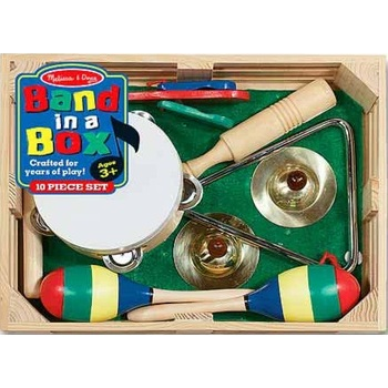 Melissa & Doug, Band In A Box, Ages 3 to 6 Years Old, 10 Pieces